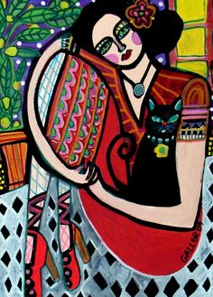 Heather Galler folk art painting