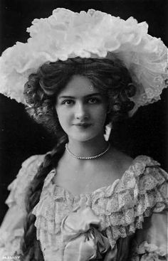 Lily Elsie, popular English actress and singer during the Edwardian era, best…