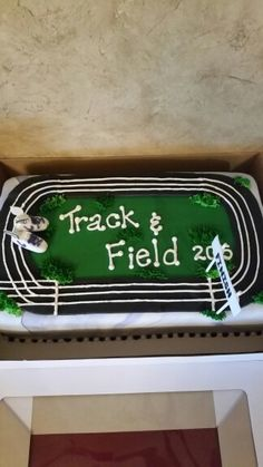 Imagine a Party: Track and Field Cake