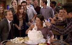 And doesn't need anyone's help to finish an entire meal (or party-sized cake) by herself.   24 Badass Traits That Make Robin Scherbatsky Your Ultimate Role Model