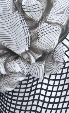 Noa Raviv | Hard Copy collection | 3D Printed fashion (detail)