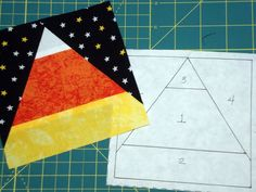 ! Sew we quilt: Guest #48 Elaine, paper piecing and LOOK PURPLE bag giveaway!