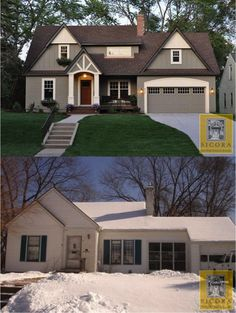 Before and After Cottage Makeover | Before and After: Cottage Makeover | Homespree