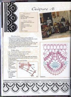 renda de bilros / bobbin lace esquemas / patterns
