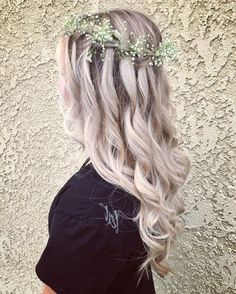 50 Waterfall Braid Inspirations You will Love, These 50 waterfall braids will add some romantic and feminine vibe into your looks. If you are looking for a sophisticated braid, then here you fou. Elegant Wedding Hair, Wedding Hair And Makeup, Bridal Hair, Hair Makeup, Wedding Bride, Hair Wedding, Braids For Short Hair, Short Hair Styles, Maternity Hair