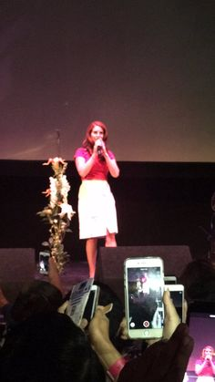 Lana at 'FREAK' première in 'The Wiltern' Theatre