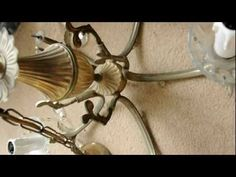 How To Rewire An Old Chandelier CHANDELIER Love Old
