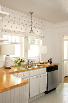 12 Ways to Update Your Kitchen: Pendant Over Kitchen Sink