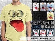 Kaos Film Anime Minions Terbaru, Kaos Desain Unik Minions, Kaos Film Minions Couple, Kaos Minions Anak-anak