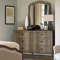 Universal Furniture Devon 6 Drawer Dresser with Optional Mirror - Dressers at Hayneedle