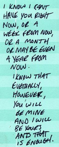 ❤️ hopefully sooner than later