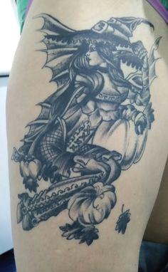 Tatuaje de bruja realizado en nuestro centro de la Vaguada de Madrid.    #tattoo #tattoos #tattooed #tattooing #tattooist #tattooart #tattooshop #tattoolife #tattooartist #tattoodesign #tattooedgirls #tattoosketch #tattooideas #tattoooftheday #tattooer #tattoogirl #tattooink #tattoolove #tattootime #tattooflash #tattooedgirl #tattooedmen #tattooaddict#tattoostudio #tattoolover #tattoolovers #tattooedwomen#tattooedlife #tattoostyle #tatuajes #tatuajesmadrid #ink #inktober #inktattoo