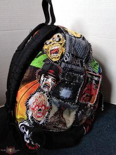 Punk Patches, Diy Patches, Punk Jackets, Battle Jacket, Punk Outfits, Cool Backpacks, Art Plastique, Alternative Fashion, Diy Clothes