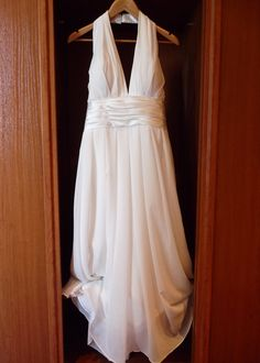 Dress all ready for the Bride...