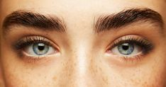 Styled eyebrows