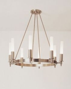 Ultra Contemporary chandelier MERCURY I by Doyle Crosby BOYD