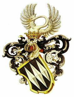 Wappen der Adelsgeschlecht von Bonstetten / Coat of Arms of The Noble Family von Bonstetten / Armas de la Familia von Bonstetten : Nobleza Suiza.