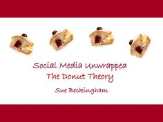 Social media unwrapped - the donut theory An introduction to social media and how it can be used for your own CPD