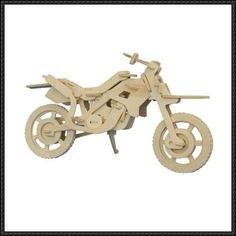3D Puzzle Motorcycle Free Template Download - http://www.papercraftsquare.com/3d-puzzle-motorcycle-free-template-download.html