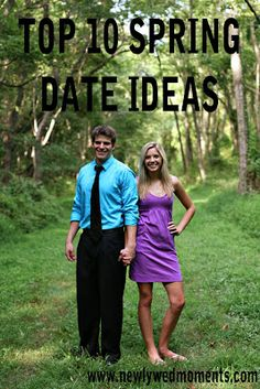 awesome list of spring date ideas  Lol maybe things I can do myself since I'm single for life