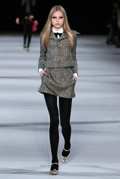You Clicked Through A Lot Of Runway Pics Last Season #refinery29  http://www.refinery29.com/2014/04/65980/most-popular-fashion-shows#slide3  3. Saint Laurent — 2,385,543 page views, 20,257 Facebook likes