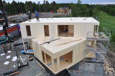 Passiv wooden house - Nordic - Funkis
