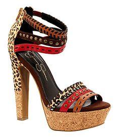 Jessica Simpson Partie Platform Sandals   Dillards.com