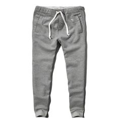 9085b753aeb Abercrombie   Fitch Slim Jogger Sweatpants ( 27) ❤ liked on Polyvore  featuring men s fashion