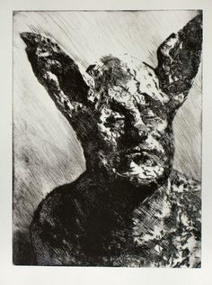 """""""DOUBLEDREAM 6""""  200x300 DRYPOINT ETCHING"""