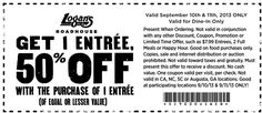 Today's top Logan's Roadhouse coupon: $5 Off $20 Coupon | Email Sign Up. Get 8 coupons for