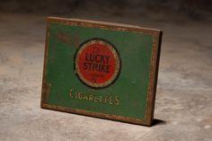 Lucky Strike Tin Box