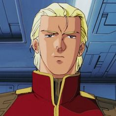 Char, in UC 0093 as leader of Neo-Zeon