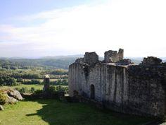 Flossenbürg castle ruins in Flossenbürg, Germany; germanyja.com