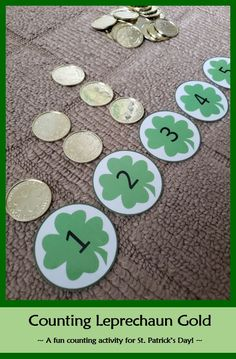 Counting Leprechaun Gold