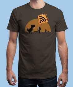 """""""Apocalypsis signal"""" is today's £8/€10/$12 tee for 24 hours only on www.Qwertee.com Pin this for a chance to win a FREE TEE this weekend. Follow us on pinterest.com/qwertee for a second! Thanks:)"""