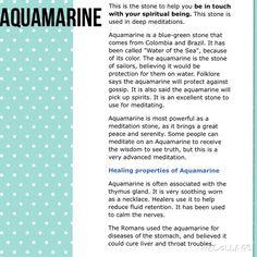 ohMgems Jewelry - GEMSTONE MEANING: Aquamarine