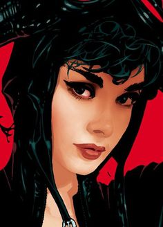 Catwoman by Adam Hughes She looks like Audrey Hepburn here.