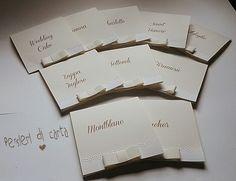 Card Segna tavolo