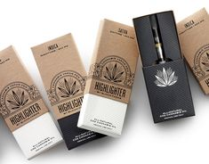 With the increase of products coming up within the cannabis market we thought it would be fitting to round up some of our favorite packaging designs from this new booming industry. Here are our top 10 cannabis packaging design picks. Cannabis Vape Pen, Medical Marijuana, Oil Vaporizer, Brand Packaging, Packaging Design, Product Packaging, Product Branding, Jars, Pipes And Bongs
