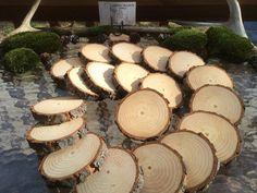 Tree Slice Coasters Tree Branch Slices by CastleBlackSupply