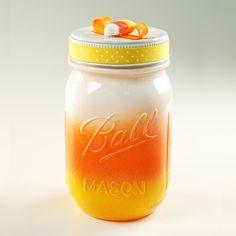 Candycorn jar