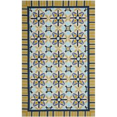 Safavieh Four Seasons Stain Resistant Hand-hooked Tan Rug (5' x 8') - Overstock™ Shopping - Great Deals on Safavieh 5x8 - 6x9 Rugs