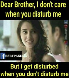 Tag-mention-share with your Brother and Sister 💚💛💚👍 Bro And Sis Quotes, Brother Sister Love Quotes, Brother And Sister Relationship, Brother Birthday Quotes, Sister Quotes Funny, Brother And Sister Love, Daughter Poems, Funny Sister, Boy Quotes