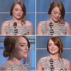 Emma Stone | Best Actress for Musical or Comedy Congratulations!!
