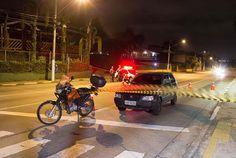 #Polícia: Bandido é baleado por Policial Civil ao tentar roubar moto na zona sul de SP