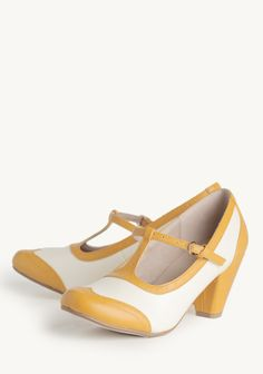 Molly T-strap Heels By Chelsea Crew - Find 150+ Top Online Shoe Stores via http://AmericasMall.com/categories/shoes.html