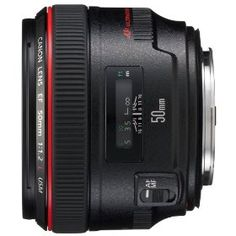 """Canon 50 mm f 1.2 Prime Lens. Rightfully nicknamed """"The Nifty Fifty"""" Bam this thing is awesome."""
