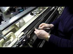 Strickmaschine: Socken ohne Naht und Ferse ohne Loch - YouTube