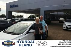 https://flic.kr/p/MR9YA1 | Happy Anniversary to Carolyn on your #Hyundai #Elantra from Frank White at Huffines Hyundai Plano! | deliverymaxx.com/DealerReviews.aspx?DealerCode=H057