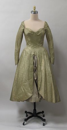 Dress Charles James  Date: 1950 Culture: American Medium: silk Accession Number: 2013.398
